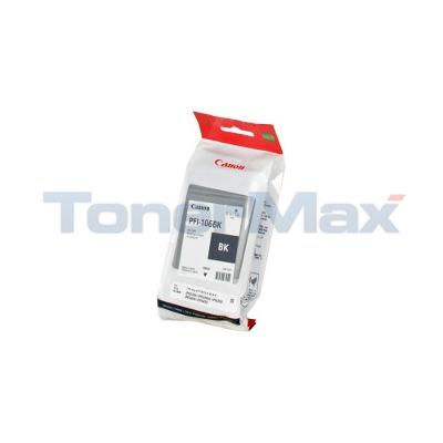 CANON PFI-106BK IMAGEPROGRAF IPF6300 INK BLACK 130ML